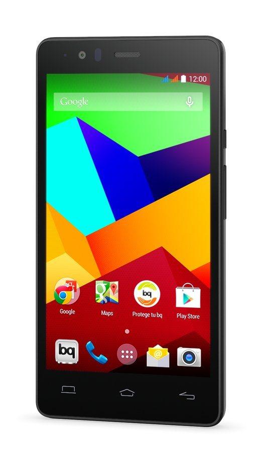 bq Smartphone »Aquaris E5 LTE 16-2GB RAM« in schwarz
