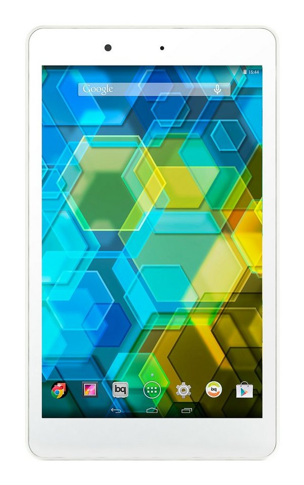 bq Android Tablet »Edison 3 mini WiFi 16+1GB« in weiss