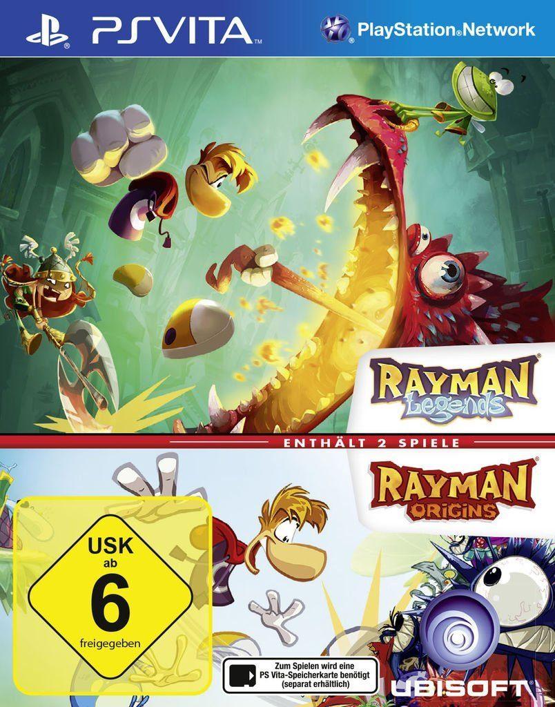 Ubisoft Playstation Vita - Spiel »Rayman Legends & Rayman Origins«