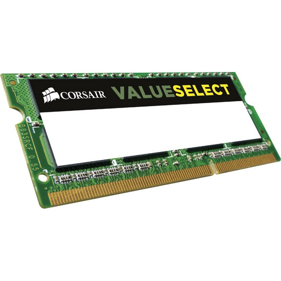 Corsair ValueSelect Arbeitsspeicher »SO-DIMM 2GB DDR3-1600«
