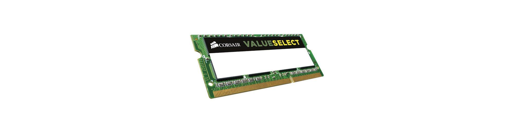 Corsair ValueSelect Arbeitsspeicher »SO-DIMM 2GB DDR3-1600«