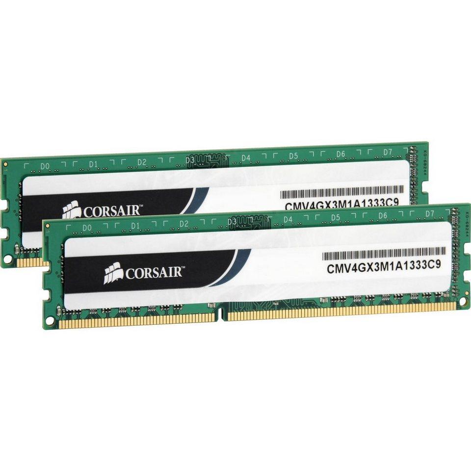 Corsair ValueSelect Arbeitsspeicher »DIMM 8 GB DDR3-1333 Kit«