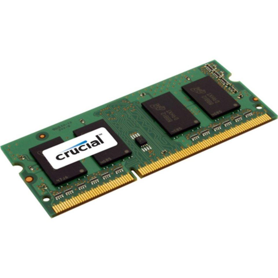 Crucial Arbeitsspeicher »SO-DIMM 4 GB DDR3-1600«