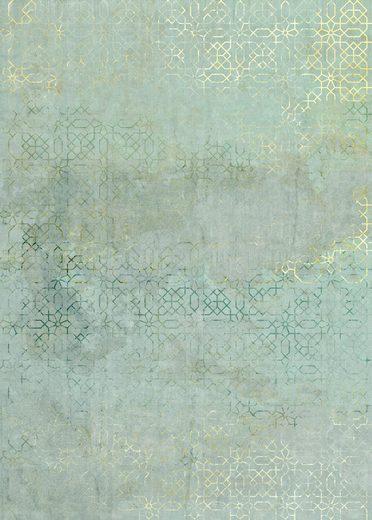 Komar Fototapete »Vliestapete Oriental Finery«, glatt, bedruckt, geblümt, floral, realistisch, 200 x 280 cm