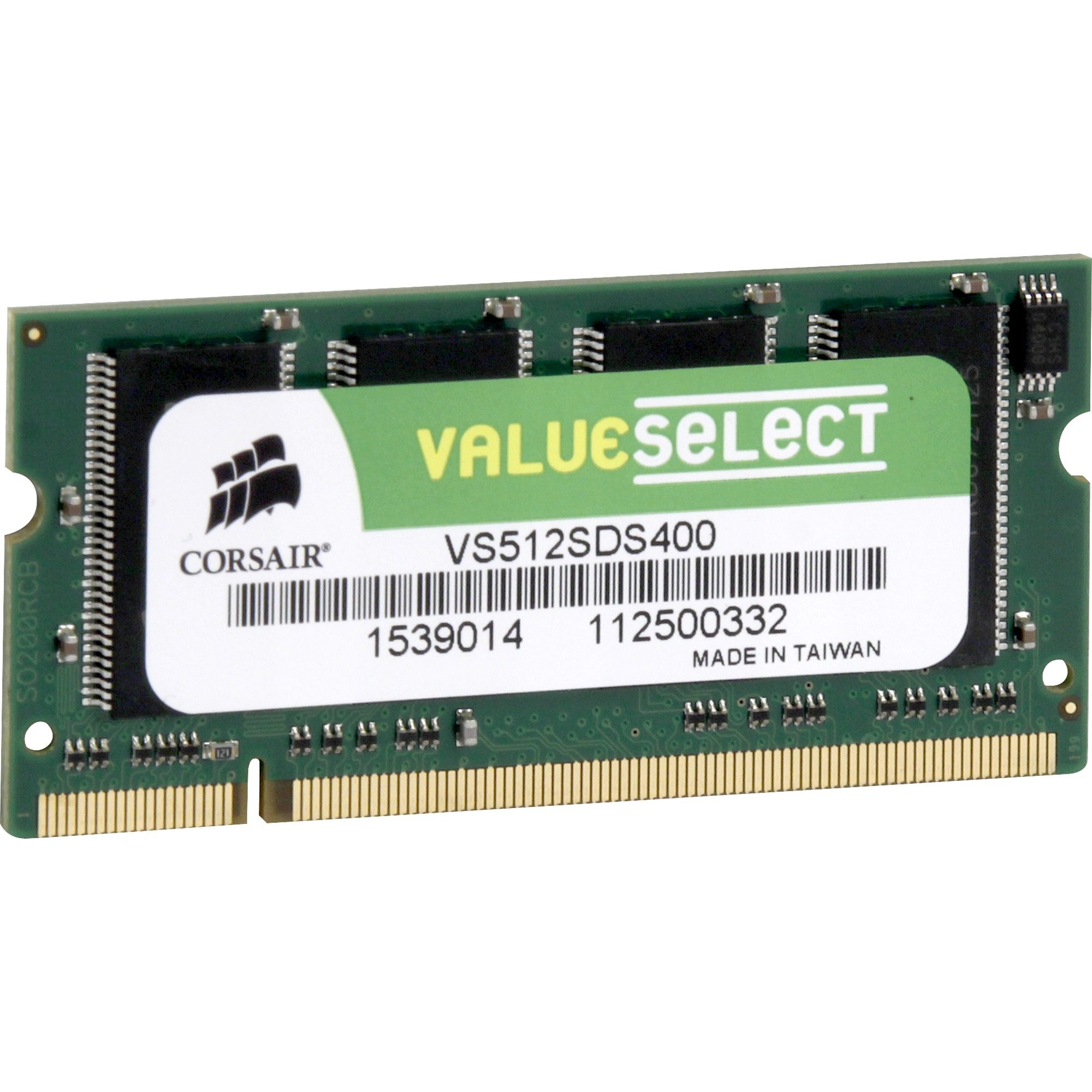 Corsair ValueSelect Arbeitsspeicher »S0-DIMM 512 MB DDR-400«
