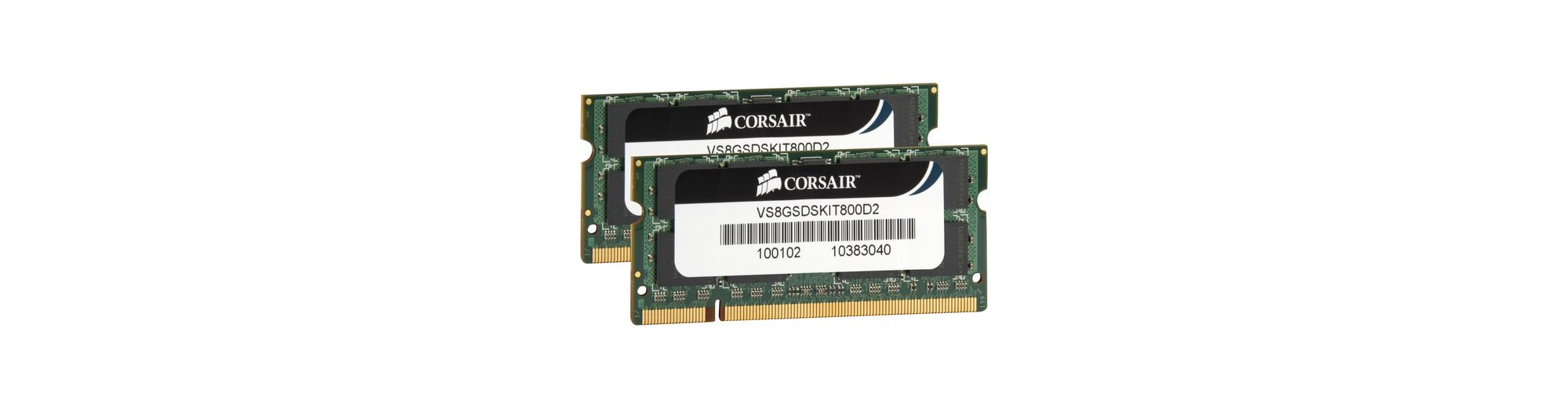 Corsair ValueSelect Arbeitsspeicher »SO-DIMM 8 GB DDR2-800 Kit«