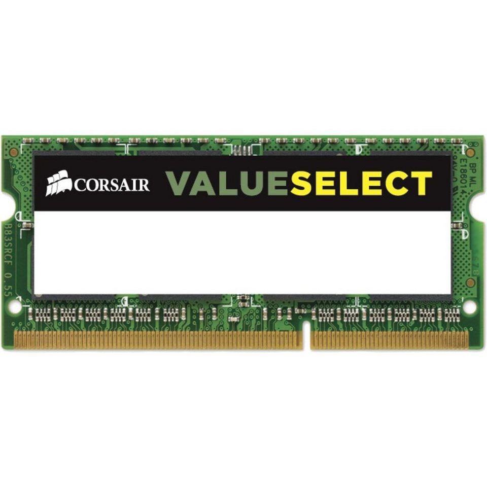 Corsair ValueSelect Arbeitsspeicher »SO-DIMM 4 GB DDR3-1600«