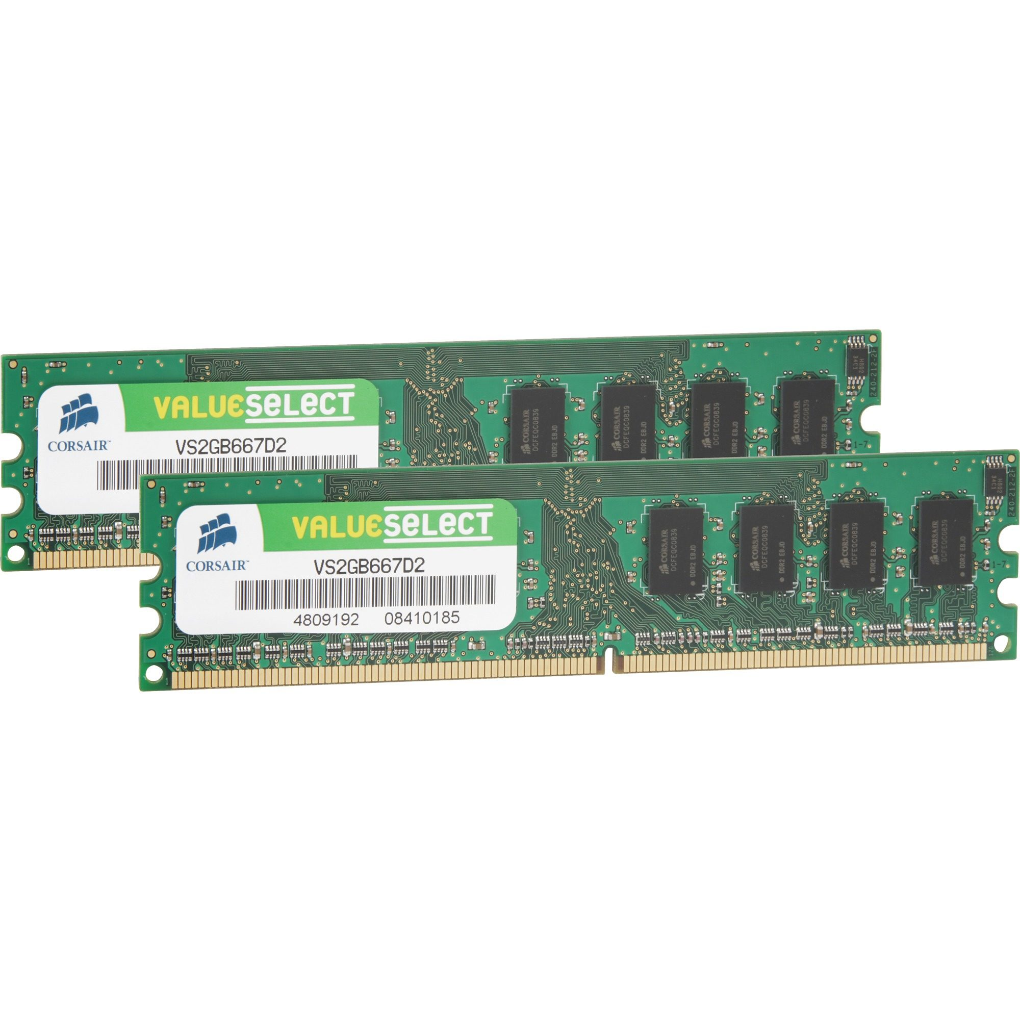 Corsair ValueSelect Arbeitsspeicher »DIMM 4 GB DDR2-667 Kit«