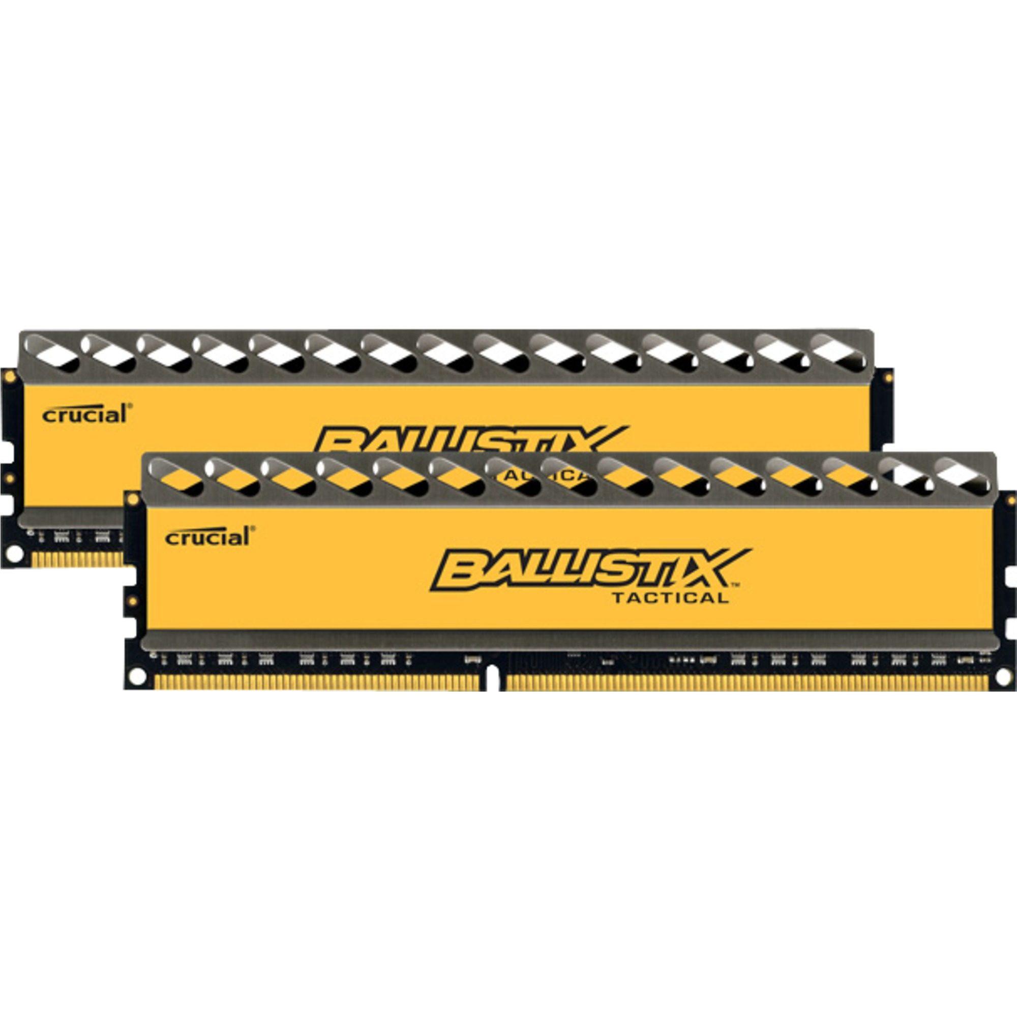 Crucial Arbeitsspeicher »DIMM 16 GB DDR3-1600 Kit«