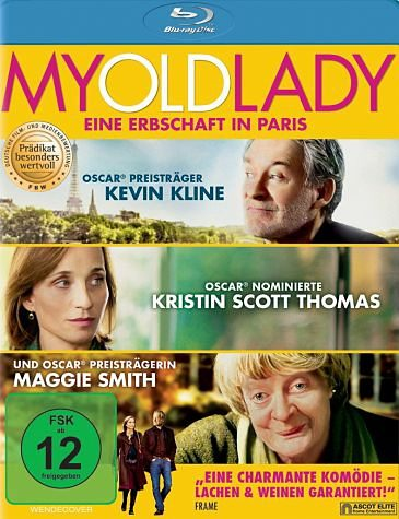 Blu-ray »My Old Lady - Eine Erbschaft in Paris«