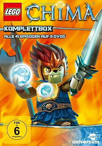 DVD »Lego: Legends of Chima - Komplettbox (9 Discs)«