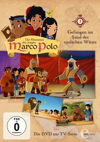 DVD »Die Abenteuer des jungen Marco Polo, Folge 3 -...«
