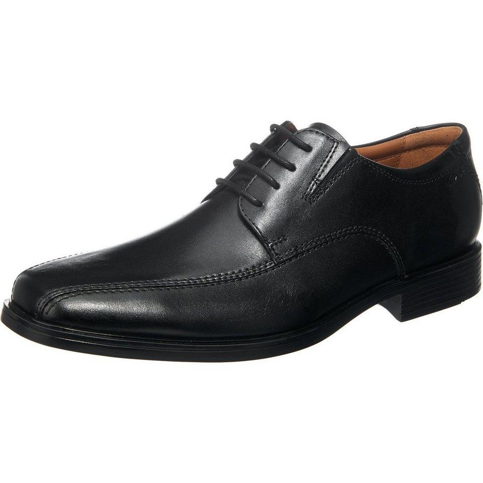 Clarks Tilden Walk Business Schuhe in schwarz