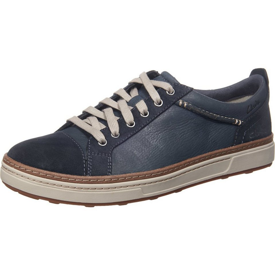 Clarks Lorsen Edge Sneakers in navy