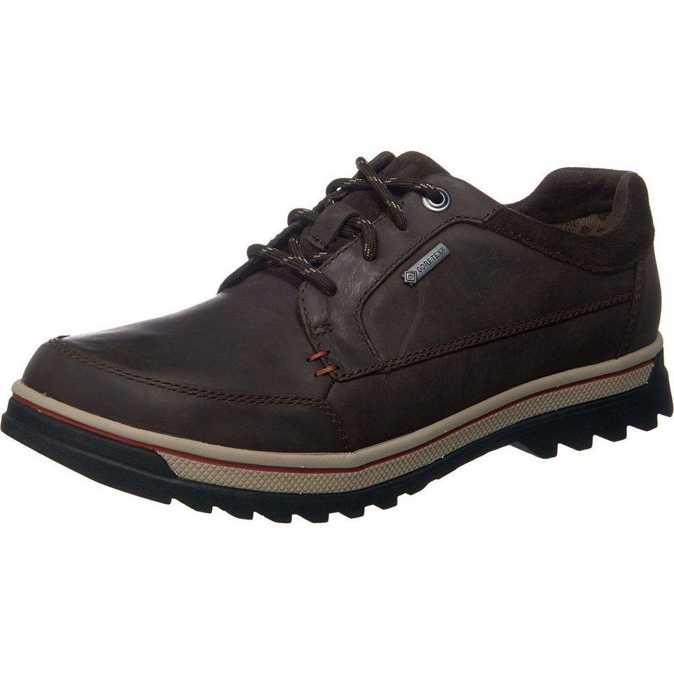Clarks Ripway Path GTX Freizeit Schuhe in dunkelbraun