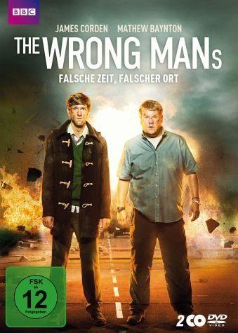 DVD »The Wrong Mans - Falsche Zeit, falscher Ort (2...«