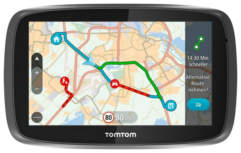 TomTom Navigationsgerät »GO 610 World« in Schwarz