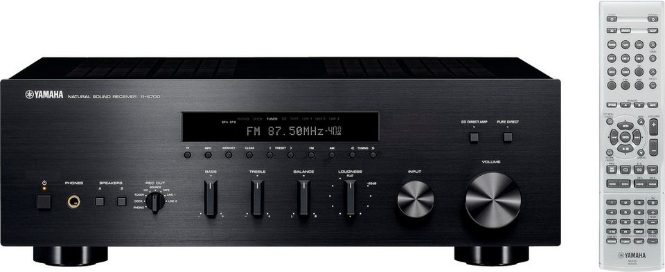 Yamaha r s700 2 audio receiver online kaufen otto for Yamaha r s700 receiver