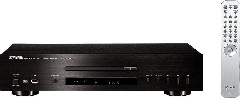 Yamaha CD-S700 CD-Player in schwarz