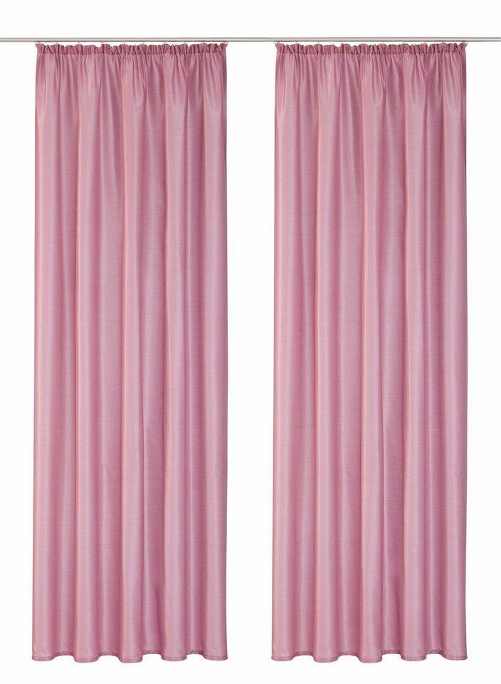 vorhang home affaire collection leticia mit kr uselband 2 st ck online kaufen otto. Black Bedroom Furniture Sets. Home Design Ideas