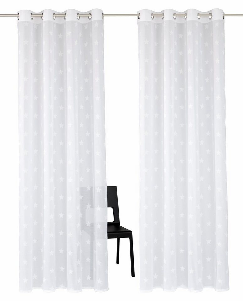 Gardinen Aufhängung gardine montreal my home ösen 2 stück kaufen otto