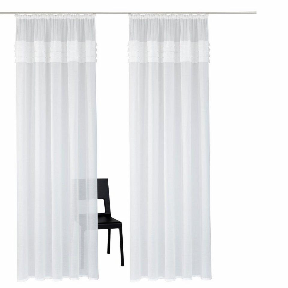 gardine home affaire collection gander mit. Black Bedroom Furniture Sets. Home Design Ideas