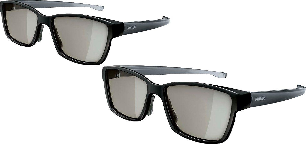 Philips PTA417 Passive 3D-Brille Passive Polarisationsbrillen