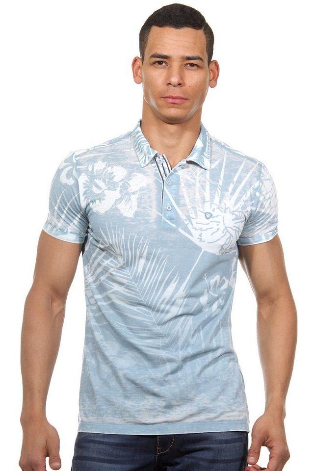MCL Poloshirt slim fit in hellblau