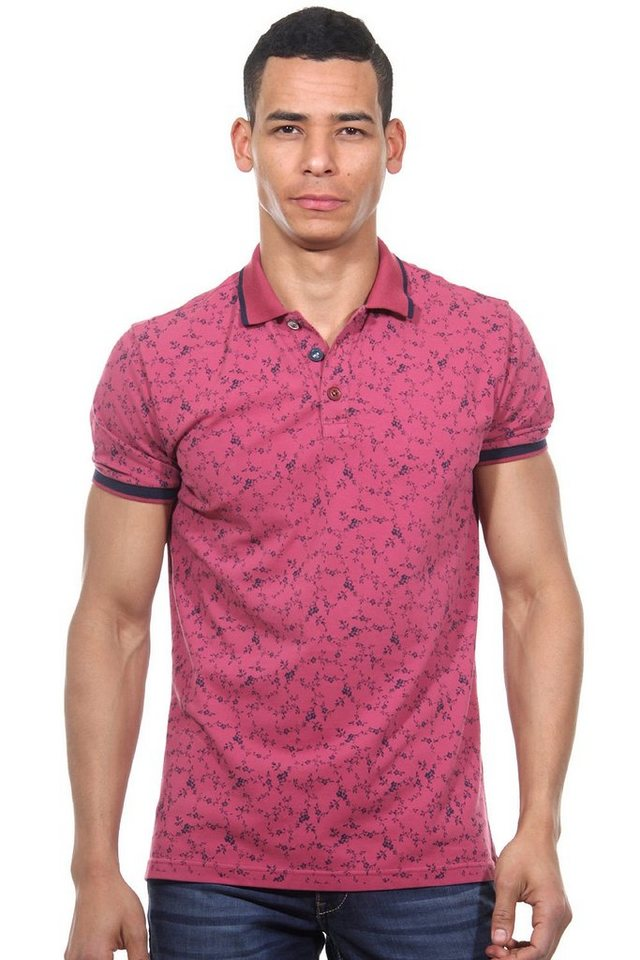 MCL Poloshirt slim fit in bordeaux