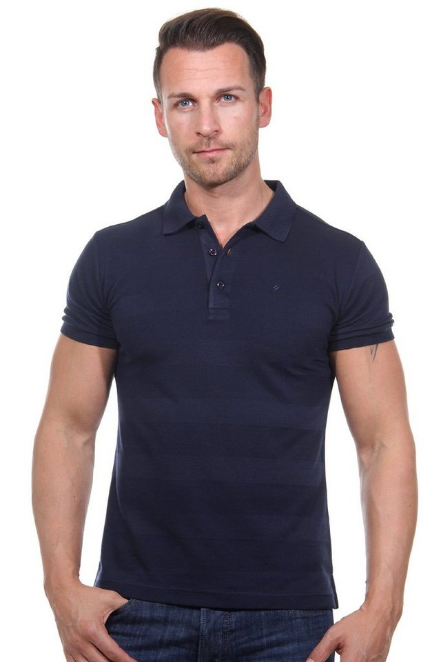 MCL Poloshirt slim fit in navy