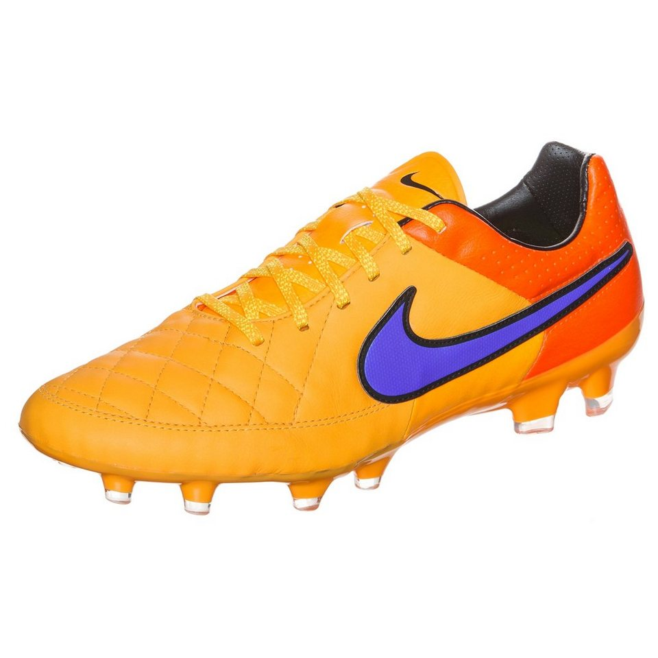 NIKE Tiempo Legacy FG Fußballschuh Herren in orange / lila