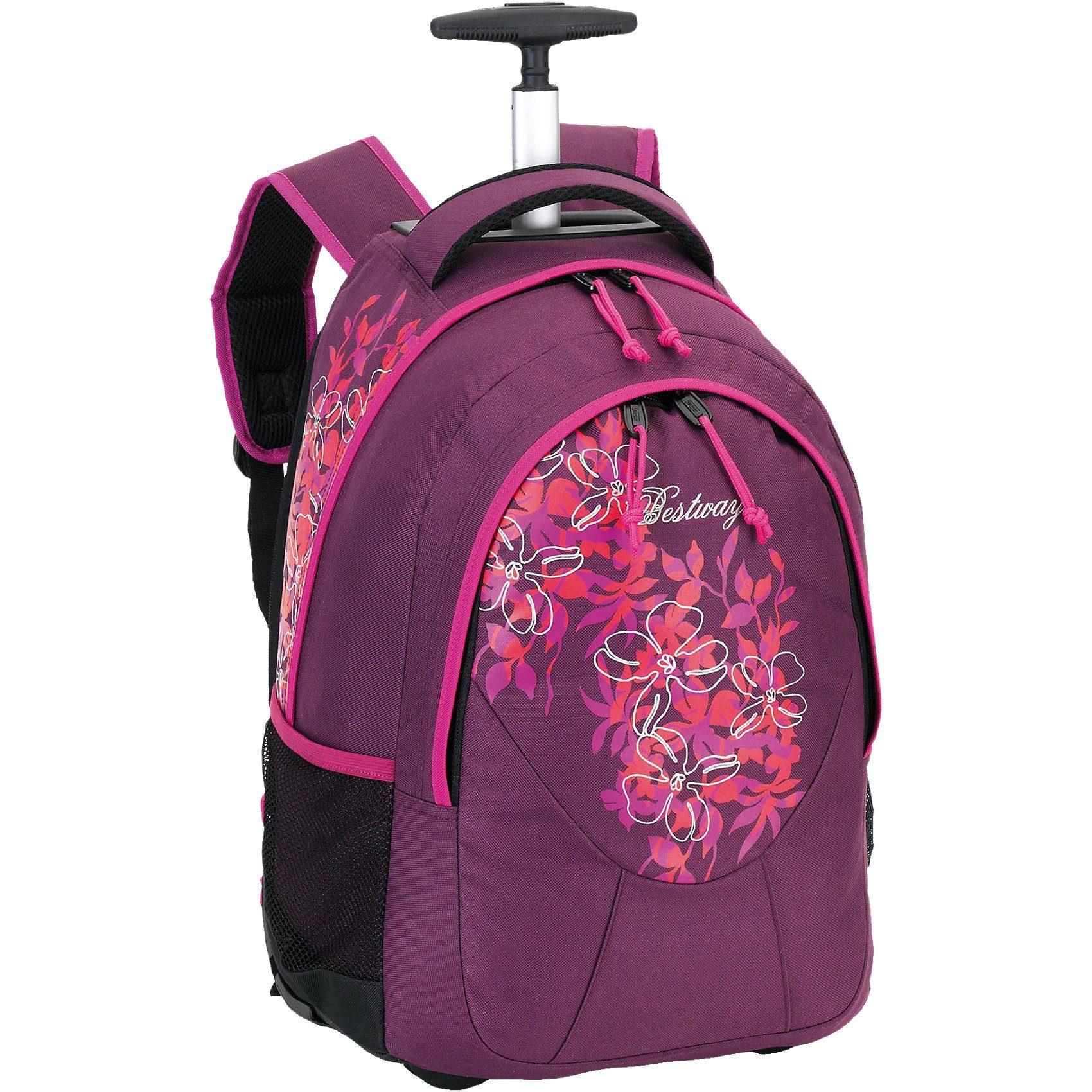 Rucksacktrolley Bestway violett/pink