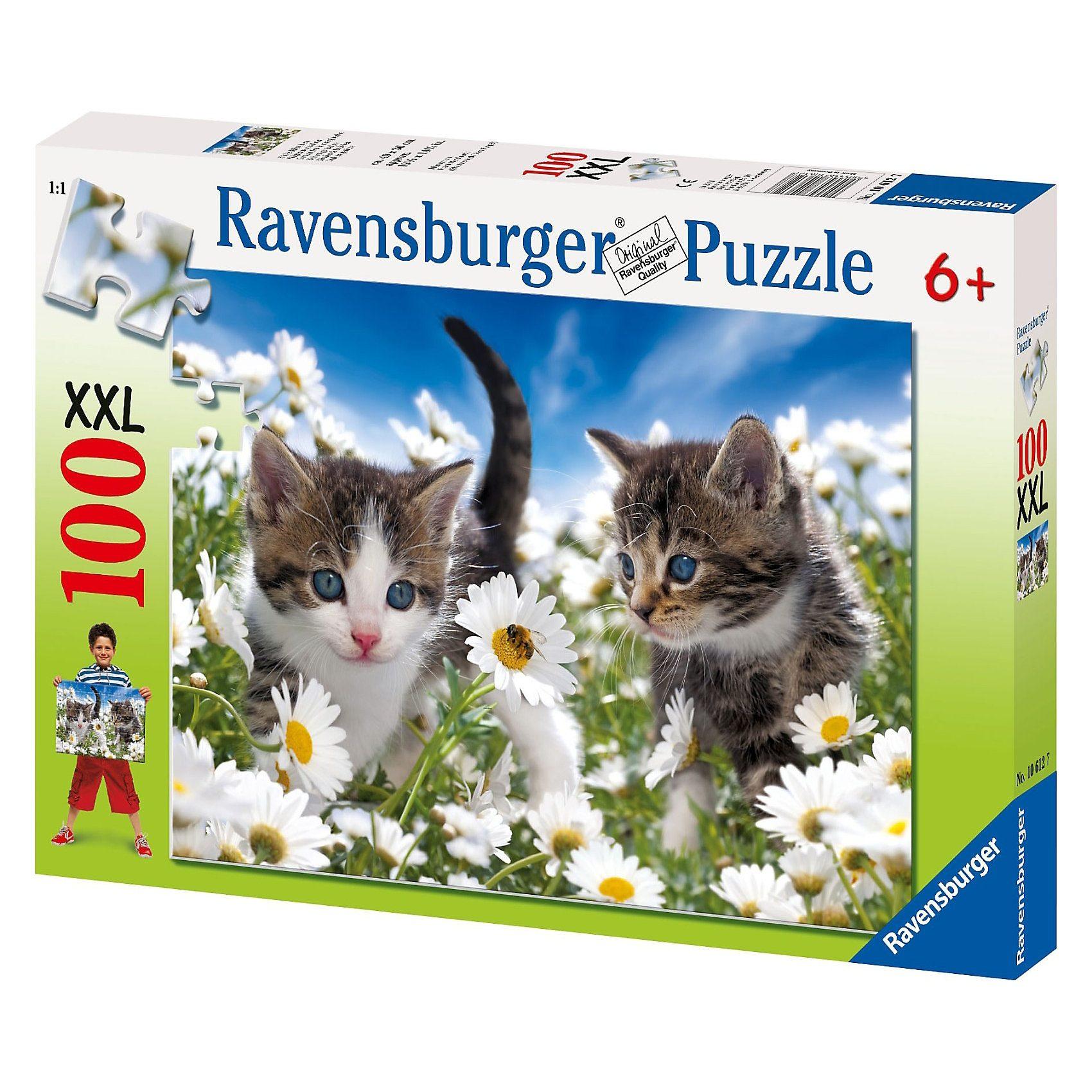 Ravensburger Süßes Kätzchen - 100 Teile XXL Puzzle