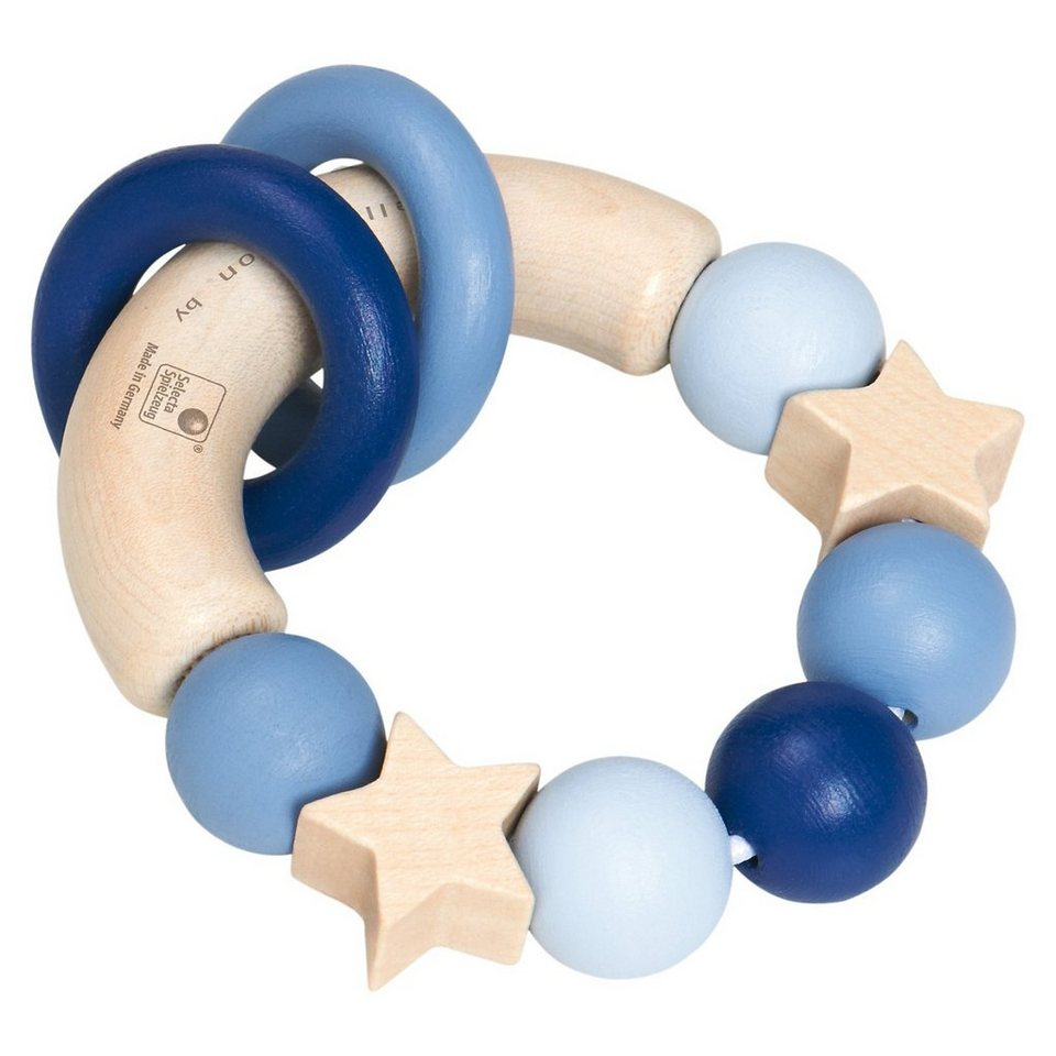 Selecta bellybutton Greifling Glücksgriff blau