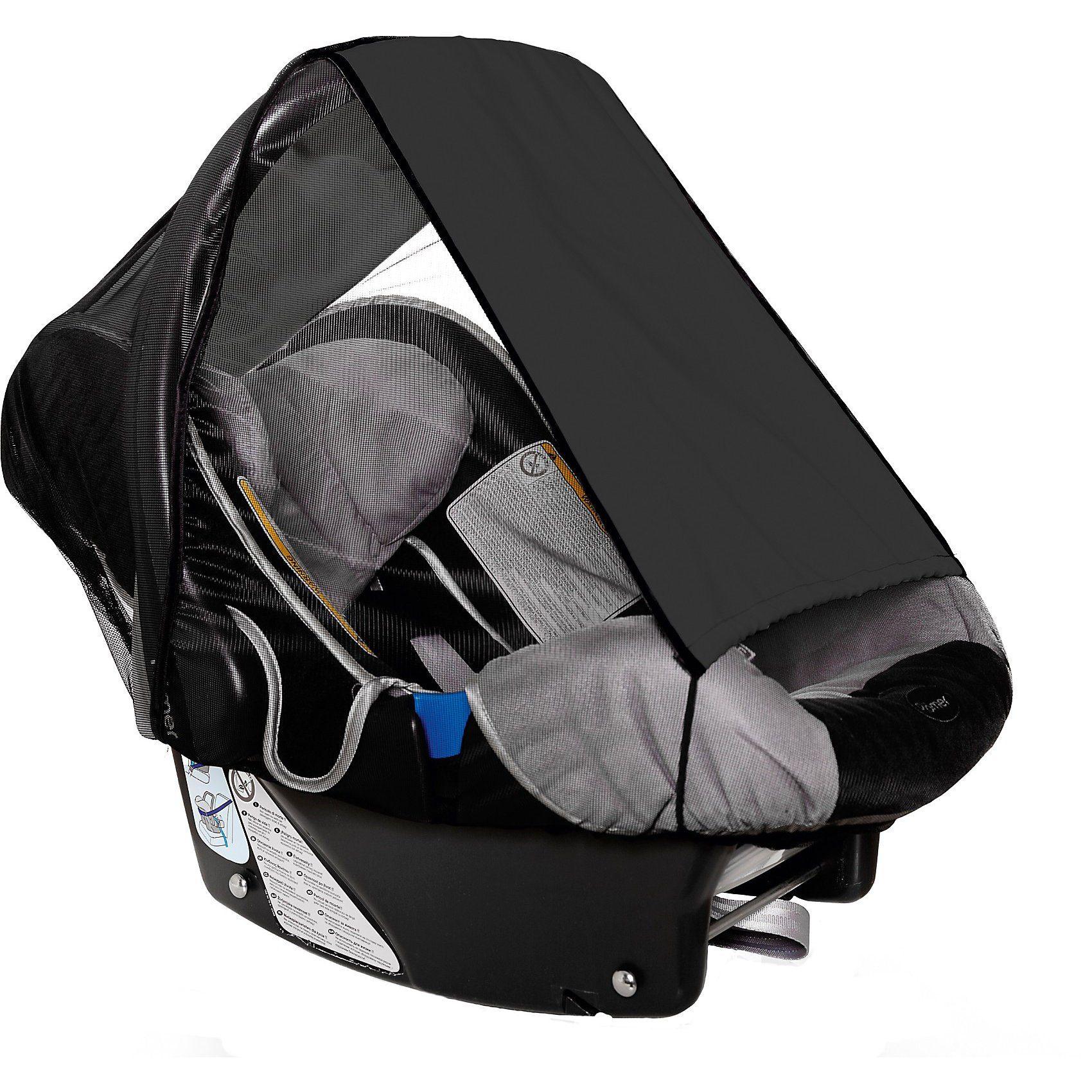 sunnybaby Sonnensegel für Babyschale UPF 50+ Schutz, schwarz