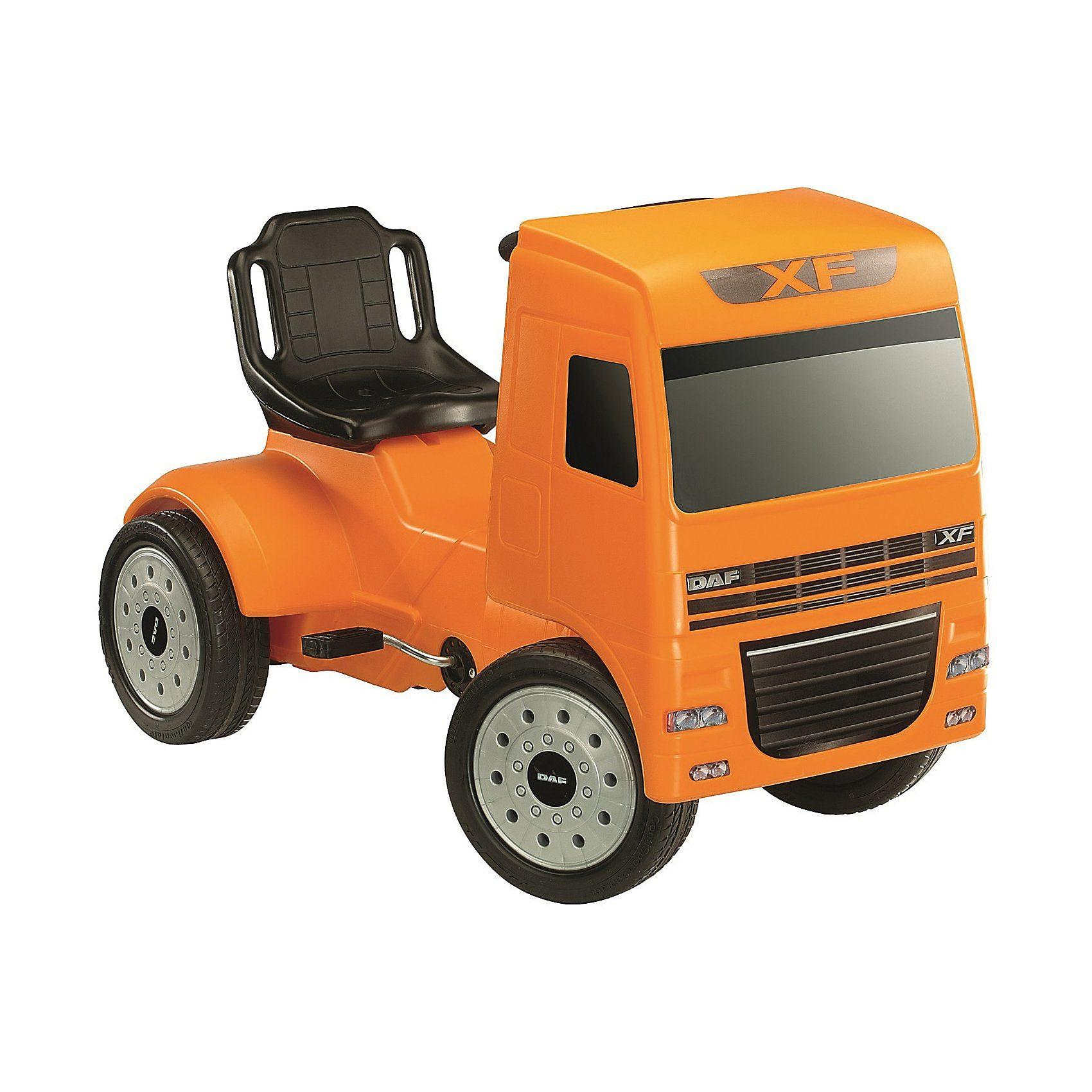 Ferbedo Pedal Truck DAF XF orange