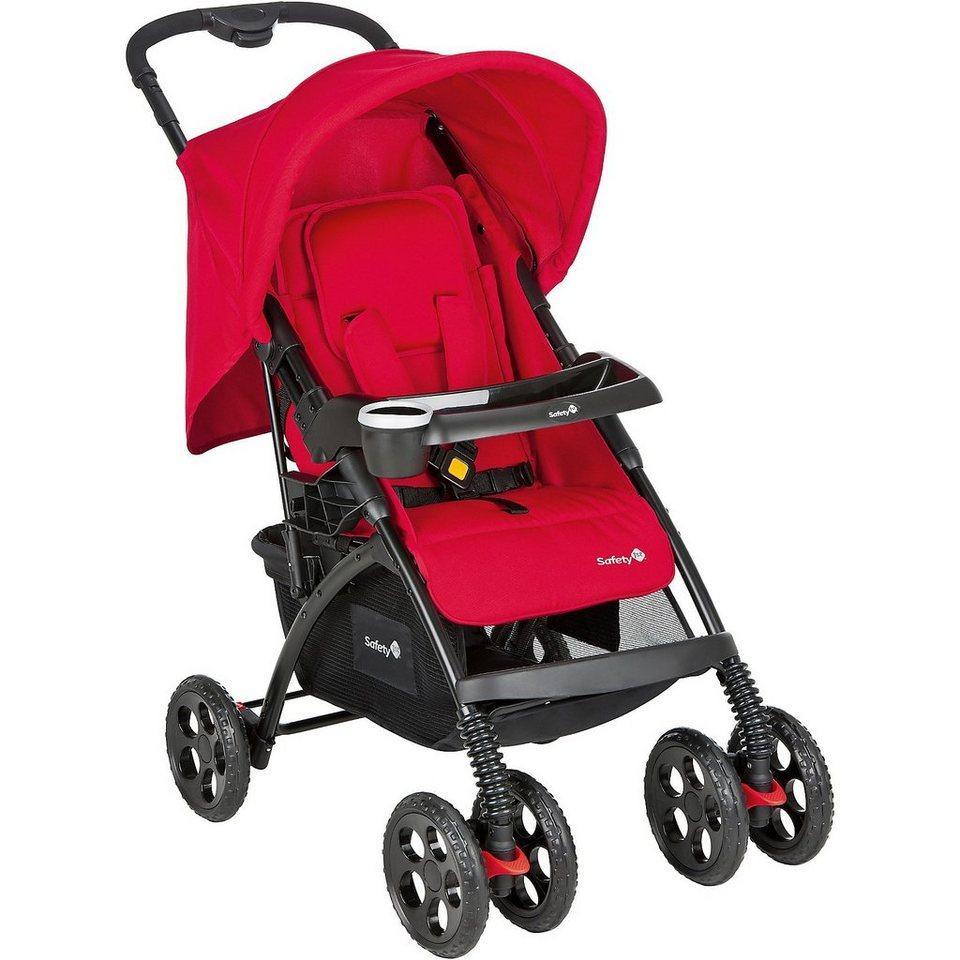 Safety 1st Sportwagen Trendideal Confort, full red in rot
