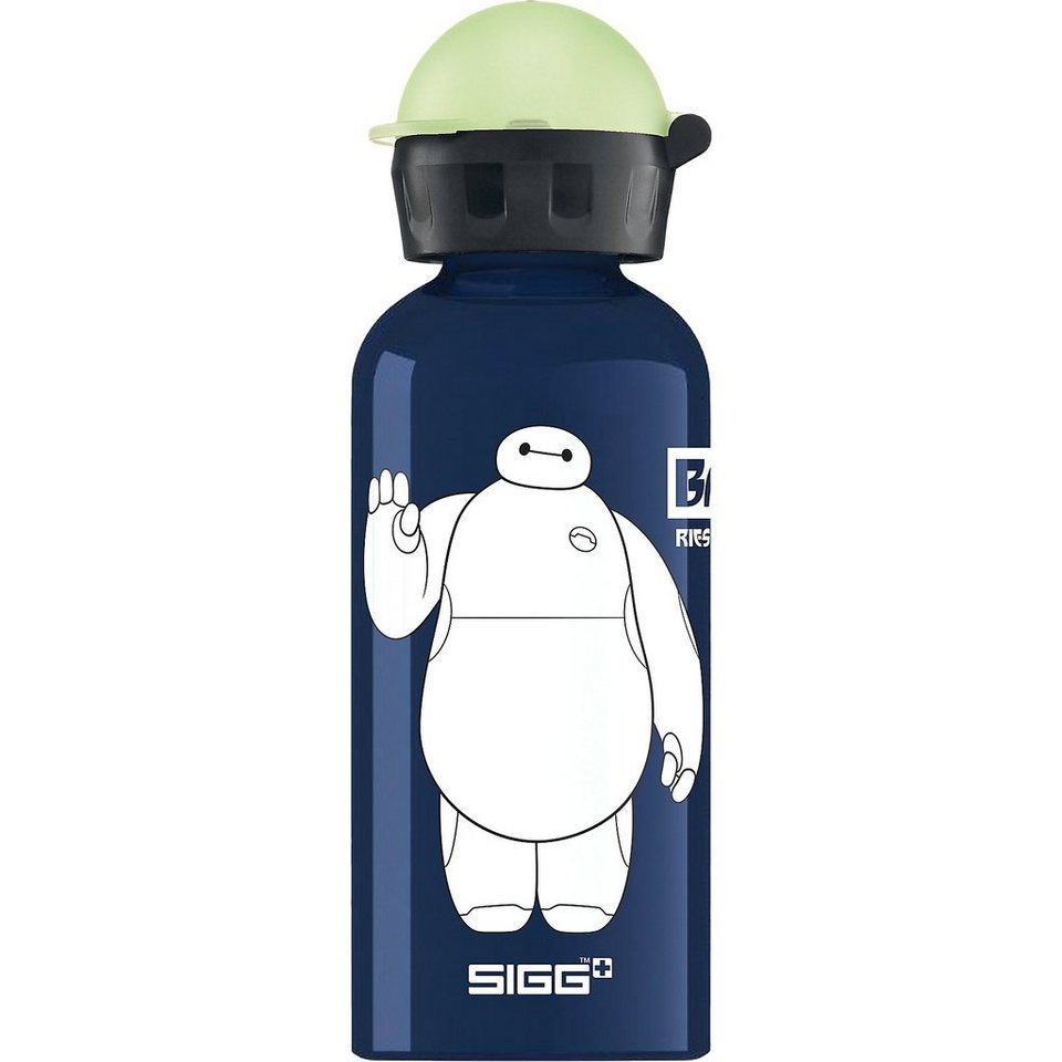 SIGG Alu-Trinkflasche Baymax, 400 ml in blau