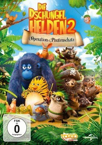 DVD »Die Dschungelhelden 2 - Operation: Piratenschatz«
