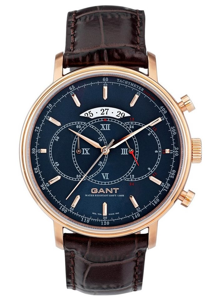 Gant Chronograph »CAMERON, W10895« in braun