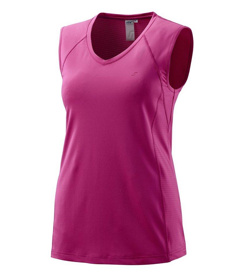 JOY sportswear Top »ZITA« in pampelmuse
