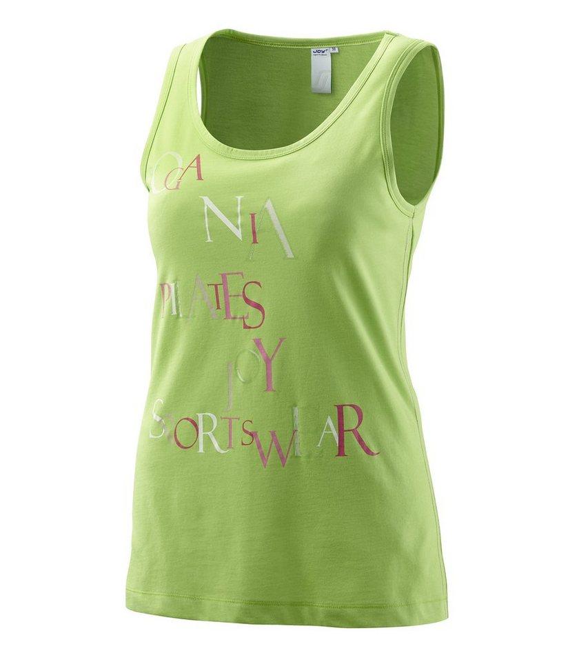 JOY sportswear Top »VANESSA« in lemongrass