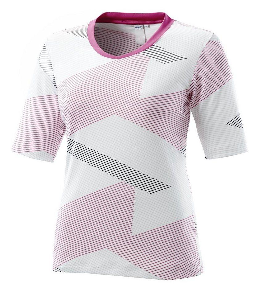 JOY sportswear T-Shirt »WARJA« in pampelmuse print