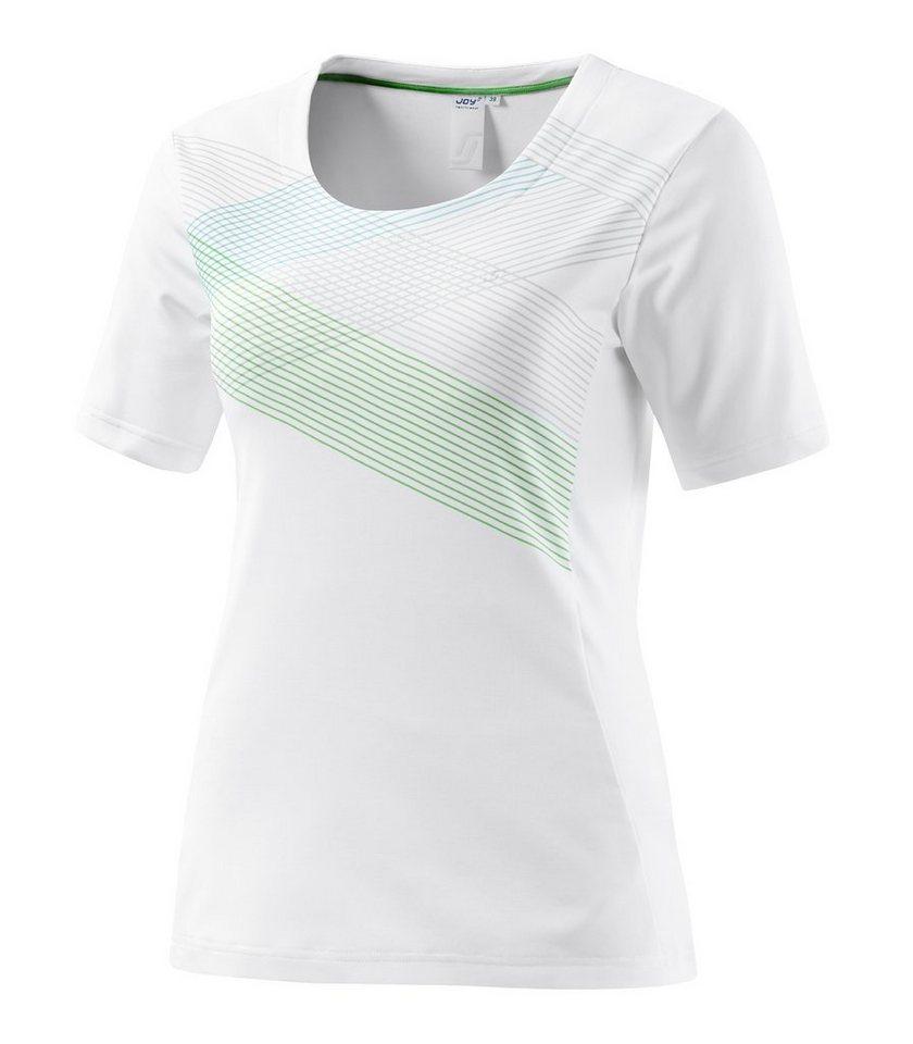 JOY sportswear T-Shirt »VALESCA« in white