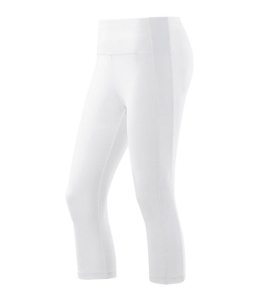 JOY sportswear 3/4-Hose »SUSANNA« in white