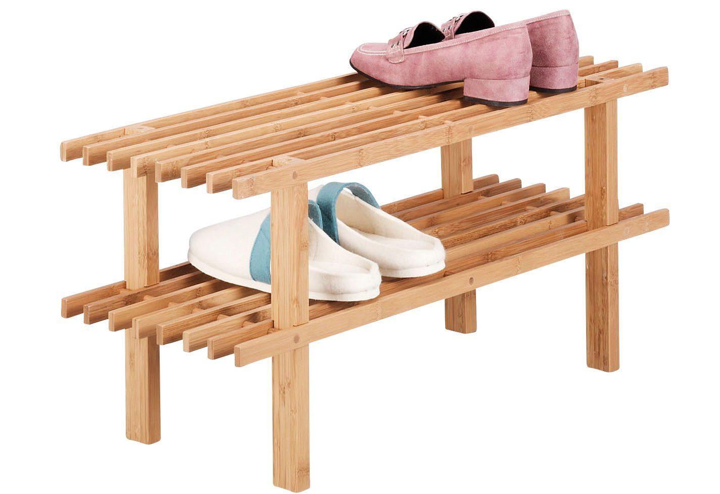 Schuhregal bamboo« länge cm online kaufen otto