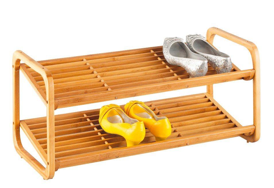 Schuhregal bamboo l nge 74 cm online kaufen otto - Schuhregal otto ...