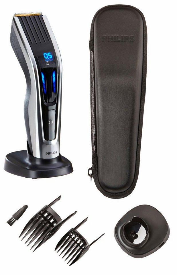 Philips Haarschneider HC9450/20, mit Touch-Steuerung in schwarz / silber