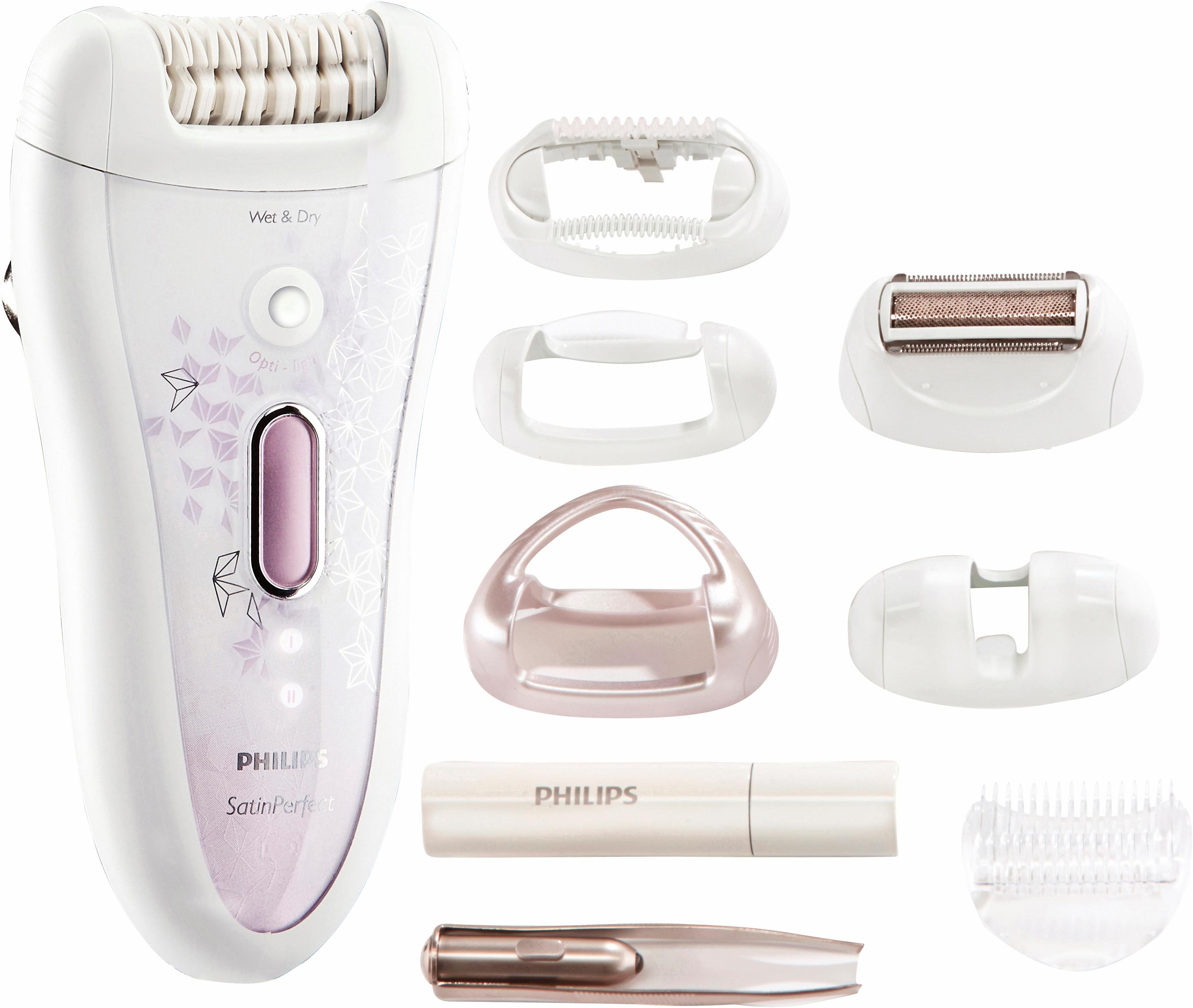 Philips Epilierer HP6583/02 Satin Perfect Wet&Dry