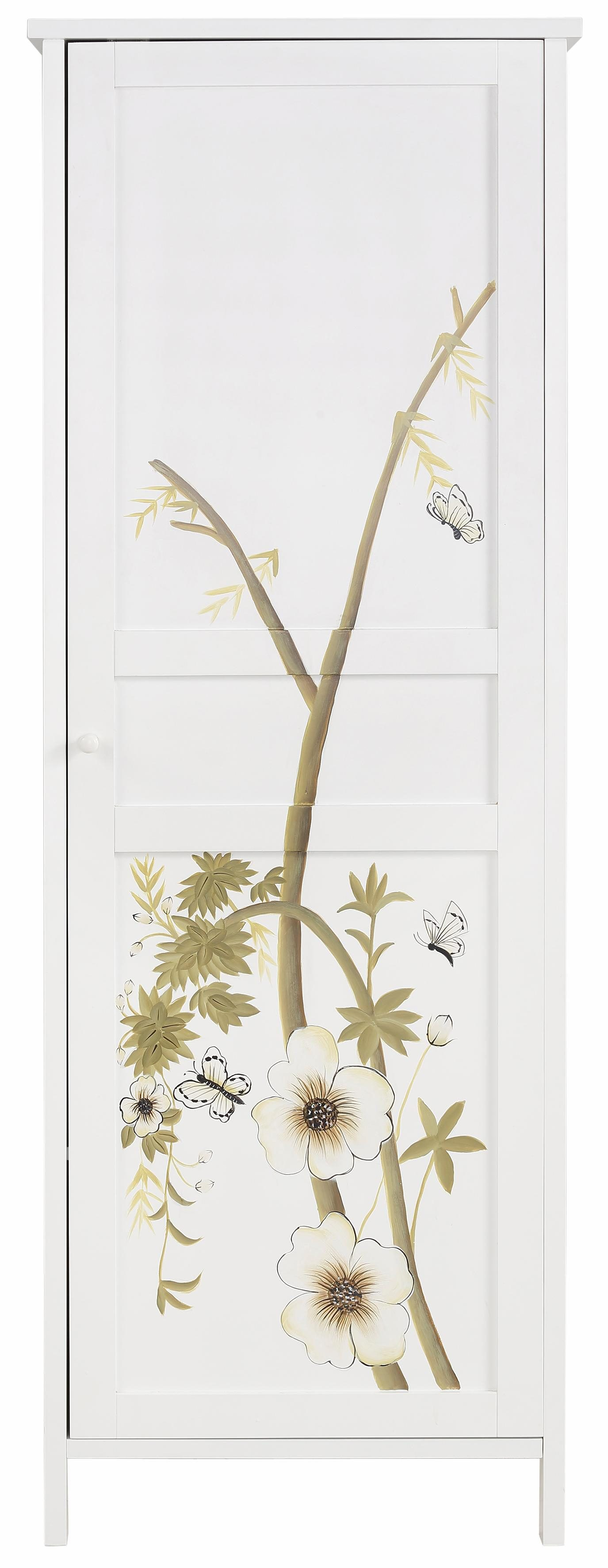 Home affaire Garderobenschrank »Flower« (1-türig oder 2-türig)